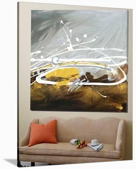 Golden Abstract-Meejlau-Loft Art