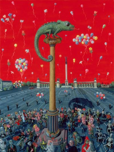 Golden Age or the Dance of Death at the Millennium's End 1996-Tamas Galambos-Giclee Print