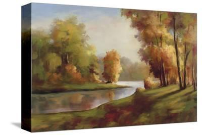 Golden Autumn Day-Marc Lucien-Stretched Canvas Print
