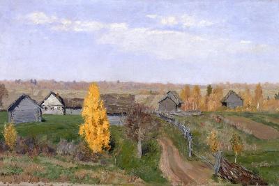 Golden Autumn. Slobodka, 1889-Isaak Ilyich Levitan-Giclee Print