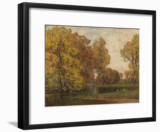 Golden Autumn-Sir Alfred East-Framed Giclee Print