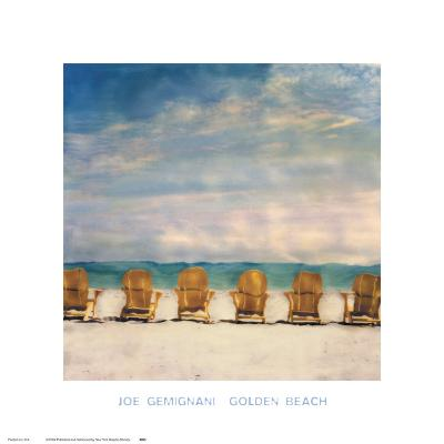 Golden Beach-Joe Gemignani-Art Print
