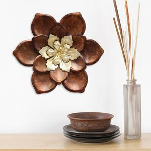 Golden Blossom Wall Flower