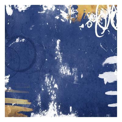 Golden Blue Mate-Jace Grey-Art Print