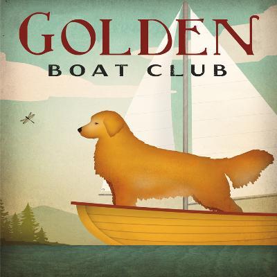 Golden Boat Club-Wild Apple Portfolio-Art Print