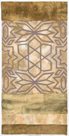 Golden Canyon I-Chariklia Zarris-Art Print