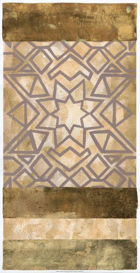 Golden Canyon II-Chariklia Zarris-Art Print