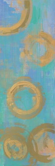 Golden Circles-Melissa Averinos-Art Print