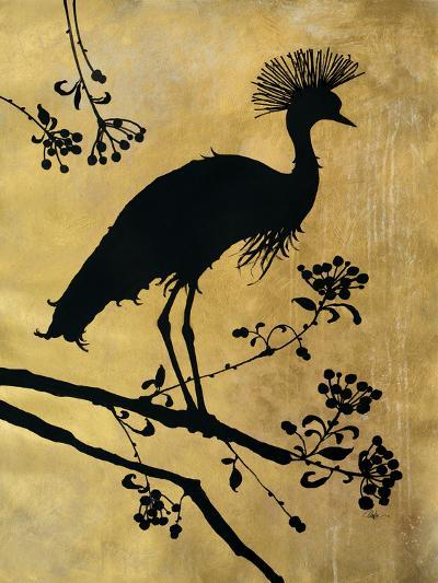 Golden Crowned Crane-Filippo Ioco-Premium Giclee Print