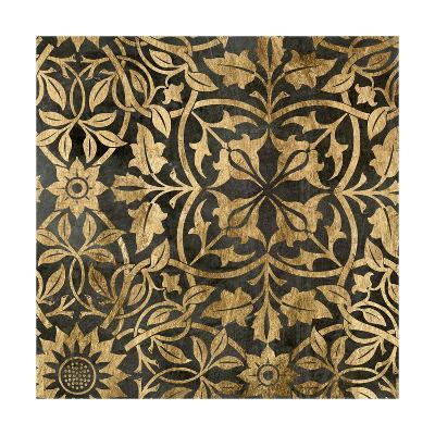 Golden Damask I-Jennifer Goldberger-Art Print