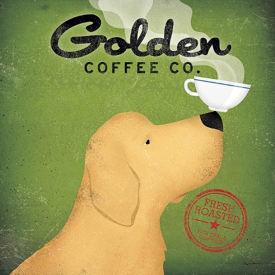 Golden Dog Coffee Co.-Ryan Fowler-Art Print
