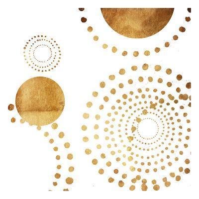 Golden Dots-Jace Grey-Art Print