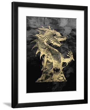 Golden Dragon--Framed Premium Giclee Print
