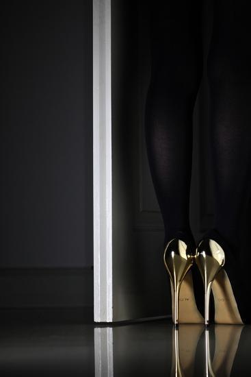 Golden Eyes-Erik Schottstaedt-Photographic Print