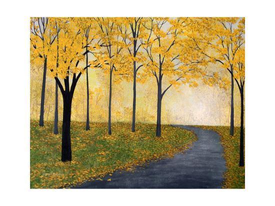 Golden Fall-Herb Dickinson-Art Print