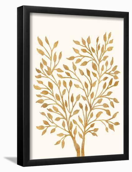Golden Ficus--Framed Art Print