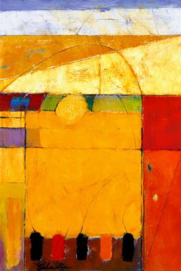 Golden Field-Tony Saladino-Art Print