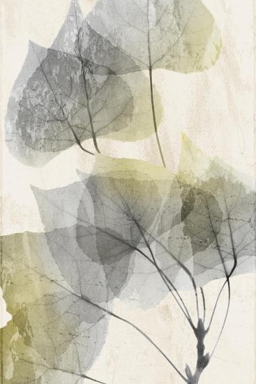 Golden Flaked 1-Albert Koetsier-Art Print