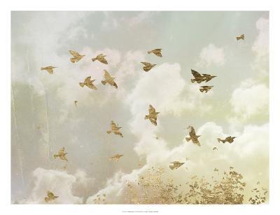 Golden Flight II-Jennifer Goldberger-Art Print