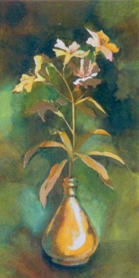 Golden Flower I-Cesara Maltempi-Art Print