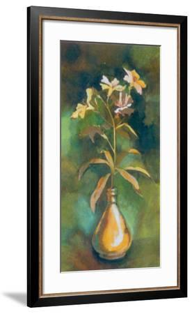 Golden Flower I-Cesara Maltempi-Framed Art Print