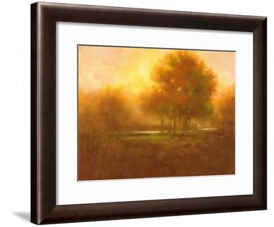 Golden Forest-Jim Mitchell-Framed Art Print