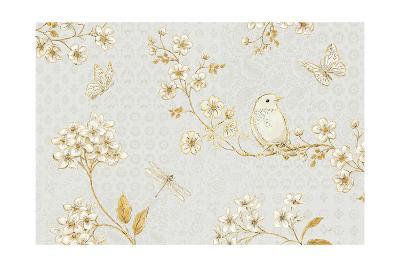 Golden Garden I-Daphne Brissonnet-Art Print