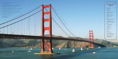 Golden Gate Architecture-Phil Maier-Art Print
