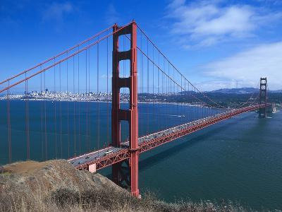 Golden Gate Bridge (1933-1937) by Joseph Baermann Strauss--Photographic Print