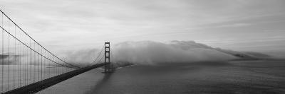 Golden Gate Bridge and Fog San Francisco Ca--Photographic Print