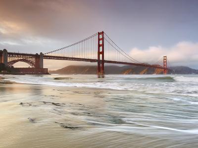 Golden Gate Bridge and Marin Headlands, San Francisco, California, USA-Patrick Smith-Premium Photographic Print