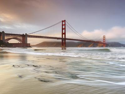 Golden Gate Bridge and Marin Headlands, San Francisco, California, USA-Patrick Smith-Photographic Print