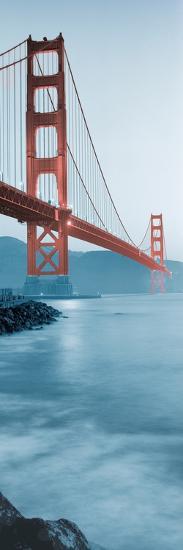 Golden Gate Bridge at Dawn (B)-Alan Blaustein-Photographic Print
