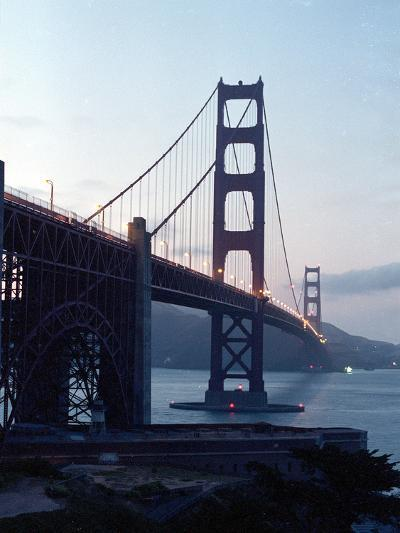 Golden Gate Bridge at Dusk-Eric Risberg-Photographic Print