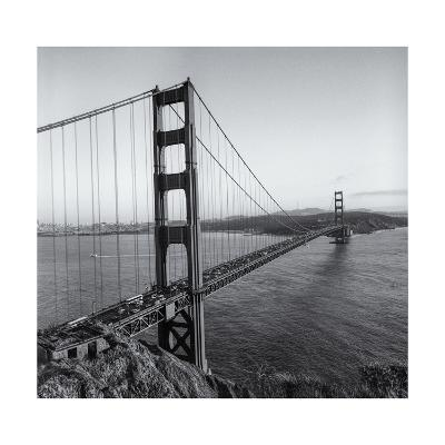 Golden Gate Bridge Late Afternoon-Henri Silberman-Photographic Print