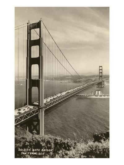 Golden Gate Bridge, San Francisco, California, Photo--Art Print