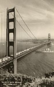 Golden Gate Bridge, San Francisco, California, Photo