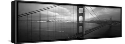 Golden Gate Bridge, San Francisco, California, USA--Framed Canvas Print