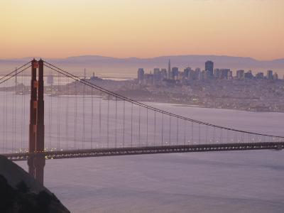 Golden Gate Bridge, San Francisco, California, USA-Ruth Tomlinson-Photographic Print