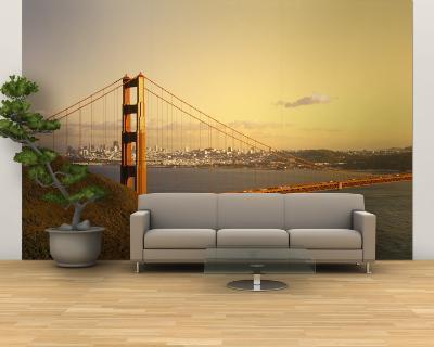 Golden Gate Bridge, San Francisco, California, USA--Wall Mural – Large