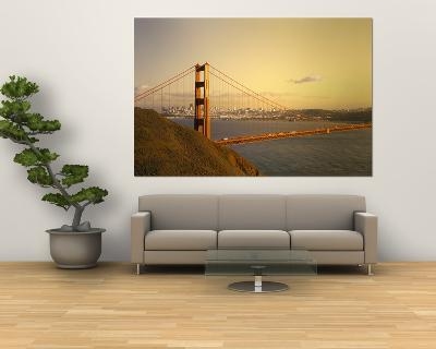 Golden Gate Bridge, San Francisco, California, USA--Giant Art Print