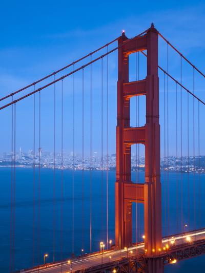 Golden Gate Bridge, San Francisco, California, USA-Alan Copson-Photographic Print