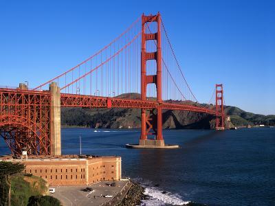 Golden Gate Bridge, San Francisco, California, USA-John Alves-Photographic Print