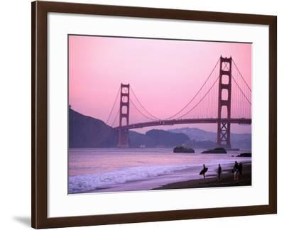 Golden Gate Bridge, San Francisco, California-Mark Newman-Framed Photographic Print