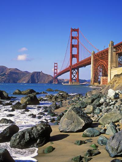 Golden Gate Bridge, San Francisco, California-Hans Peter Merten-Photographic Print