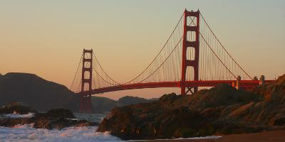 Golden Gate Bridge, San Francisco, CAlifornia-Anna Miller-Photographic Print