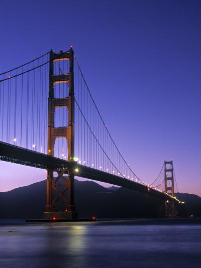 Golden Gate Bridge, San Francisco, USA-Neil Farrin-Photographic Print
