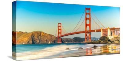 Golden Gate Bridge, San Francisco--Stretched Canvas Print