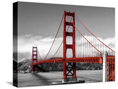 Golden Gate Bridge, San Francisco-Pangea Images-Stretched Canvas Print