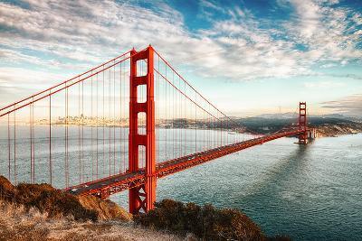 Golden Gate Bridge, San Francisco-vent du sud-Photographic Print
